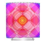 Pinwheel In Motion Shower Curtain