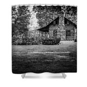 Pioneer Days  Shower Curtain