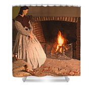 Pioneer Fire Impressions Shower Curtain