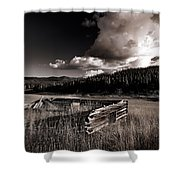 Pioneer History Shower Curtain
