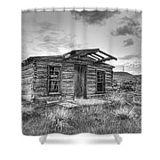 Pioneer Home - Nevada City Ghost Town Shower Curtain