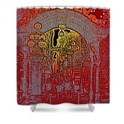 Pioneer Square Pergola 2 Shower Curtain