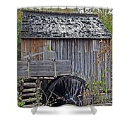 Pioneer Water Mill Shower Curtain