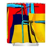 Pipe Dream Shower Curtain