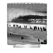 Pipe Frenzy Shower Curtain