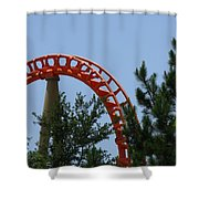 Pipe Line Shower Curtain
