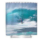 Pipeline's Reef Shower Curtain