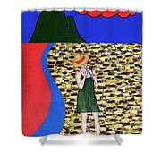 Piper 2 Shower Curtain