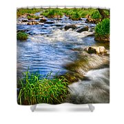 Pipestone National Monument Shower Curtain