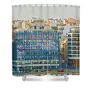 Piraeus, Port Near Athens In Greece Shower Curtain