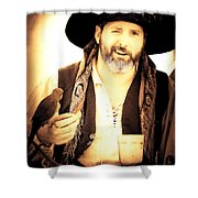Pirate Mattie Shower Curtain
