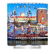 Pirate Colors Shower Curtain