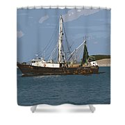 Pirate One Shower Curtain