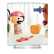 Pirate Play Shower Curtain