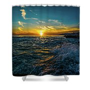 Pirate Tower Shower Curtain