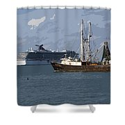 Pirate Two Shower Curtain