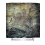 Pirates Cove Shower Curtain
