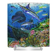 Pirates Reef Shower Curtain