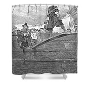 Pirates: Walking The Plank Shower Curtain by Granger