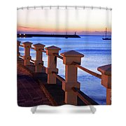 Piriapolis Coast Shower Curtain