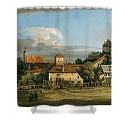 Pirna. The Obertor From The South Shower Curtain