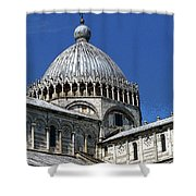 Pisa Cathedral Dome Shower Curtain