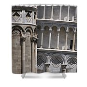 Pisa Leaning Tower 4637 Shower Curtain