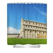 Pisa Panorama Shower Curtain