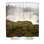 Pisew Falls Northern Manitoba Canada Shower Curtain
