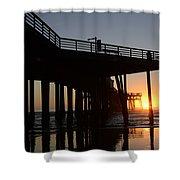 Pismo Beach Pier California 2 Shower Curtain