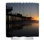 Pismo Beach Pier California 4 Shower Curtain