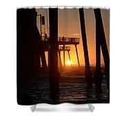 Pismo Beach Pier California 5 Shower Curtain