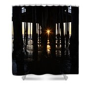 Pismo Beach Pier California 7 Shower Curtain