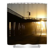 Pismo Beach Pier California 8 Shower Curtain