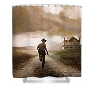Un Pistola Shower Curtain