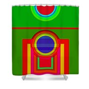 Pitch Shower Curtain
