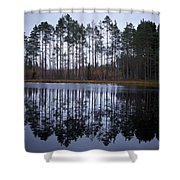 Pitkajarvi 4 Shower Curtain