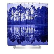 Pitkajarvi 6 Shower Curtain
