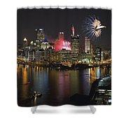 Pittsburgh 3 Shower Curtain