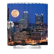 Pittsburgh 6 Shower Curtain