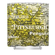 Pittsburgh Sports Shower Curtain