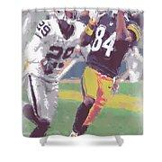 Pittsburgh Steelers Antonio Brown 1 Shower Curtain