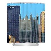 Pittsburghs Big Three Shower Curtain