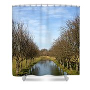 Pivka River Shower Curtain