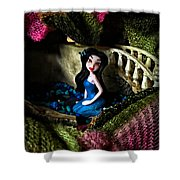 Pixie Pool Shower Curtain