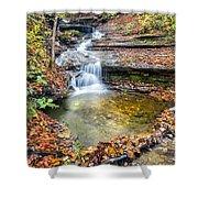 Pixley Falls State Park Lesser Falls Shower Curtain