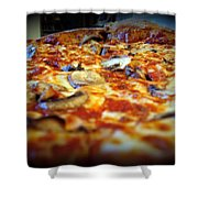 Pizza Pie For The Eye Shower Curtain
