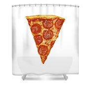 Pizza Slice Shower Curtain