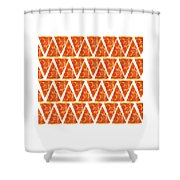 Pizza Slices Shower Curtain