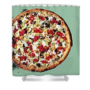 Pizza - The Guido Special Shower Curtain